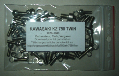 KAWASAKI KZ 750 Twin 1976-1984 Kit n°1 carburetors